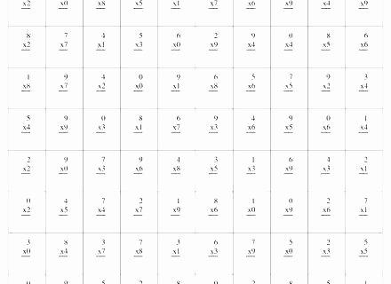 0 12 Multiplication Test Multiplication Facts Worksheets 0 12 Multiplication Test 0