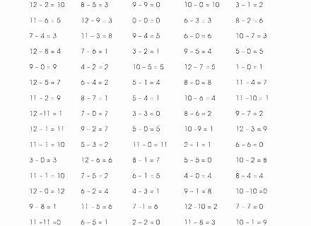 0 12 Multiplication Test Multiplication Facts Worksheets 0 12