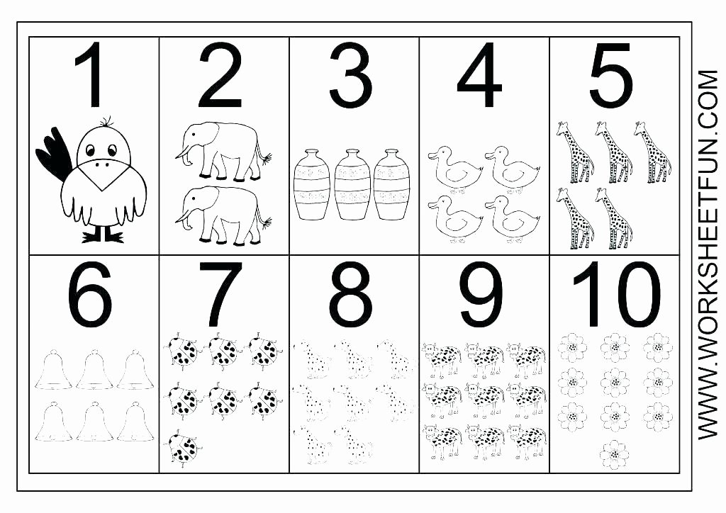 1 10 Writing Worksheets Free Printable Number Tracing Worksheets
