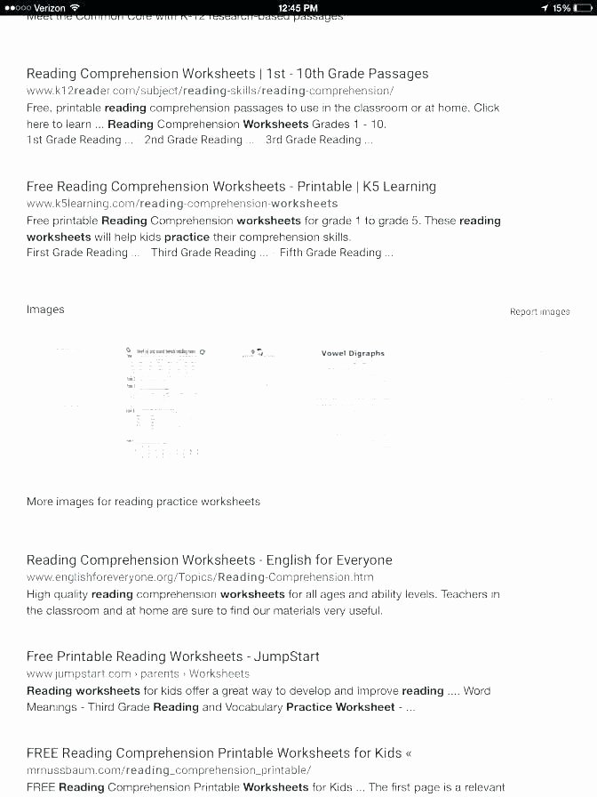 1st Grade Comprehension Worksheets Free Very Easy Reading Prehension Worksheets