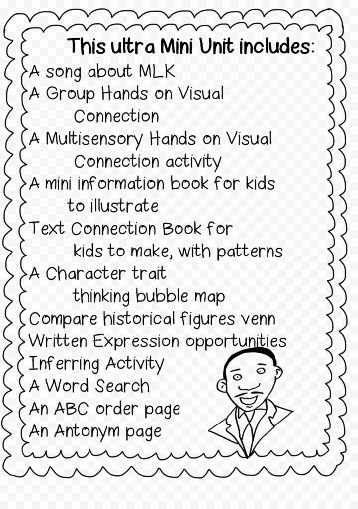 1st Grade History Worksheets Coloring Coloring Free Martin Luther King Worksheets