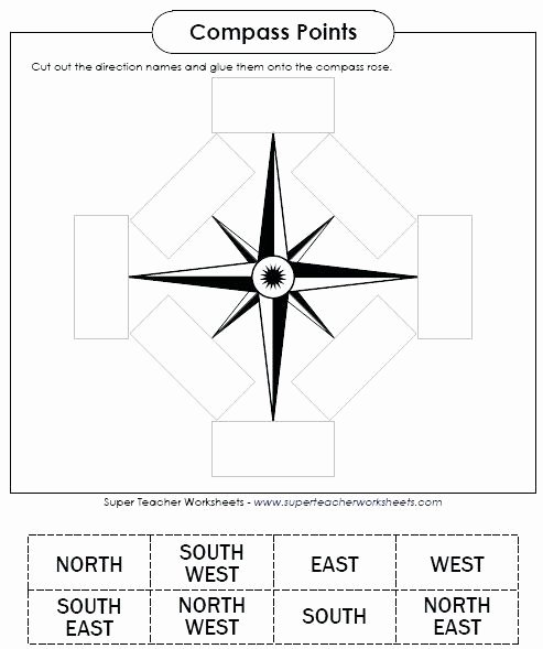 1st Grade Map Skills Worksheets Fresh Map Skills Worksheets Pass Worksheet Free for 2nd Grade