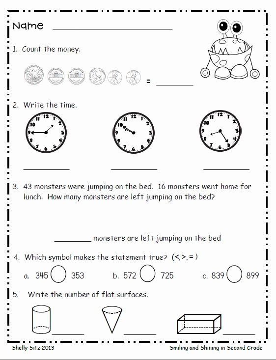 1st Grade Morning Work Worksheets Essay Writer No Plagiarism Bluefactor Second Grade Math