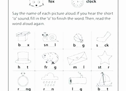 1st Grade Phonics Worksheets Pdf Blend Phonics Worksheets Pdf for Kindergarten Letters