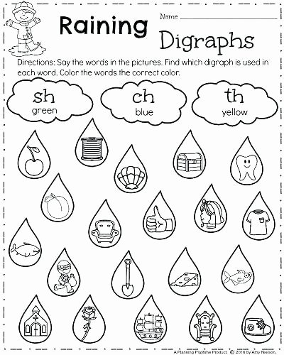 1st Grade Phonics Worksheets Pdf Free First Grade Phonics Rhyming the Reading
