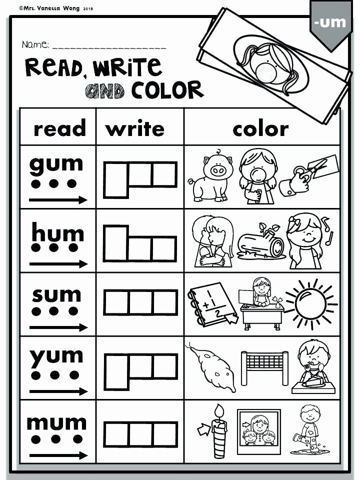 1st Grade Phonics Worksheets Pdf Words Worksheets Cvc Phonics Pdf