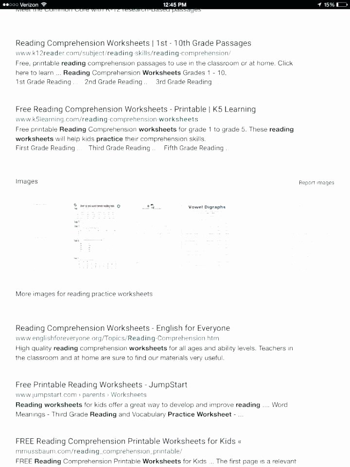 1st Grade Reading Fluency Worksheets Third Grade Reading Worksheets Free Printable Info Fun 5th