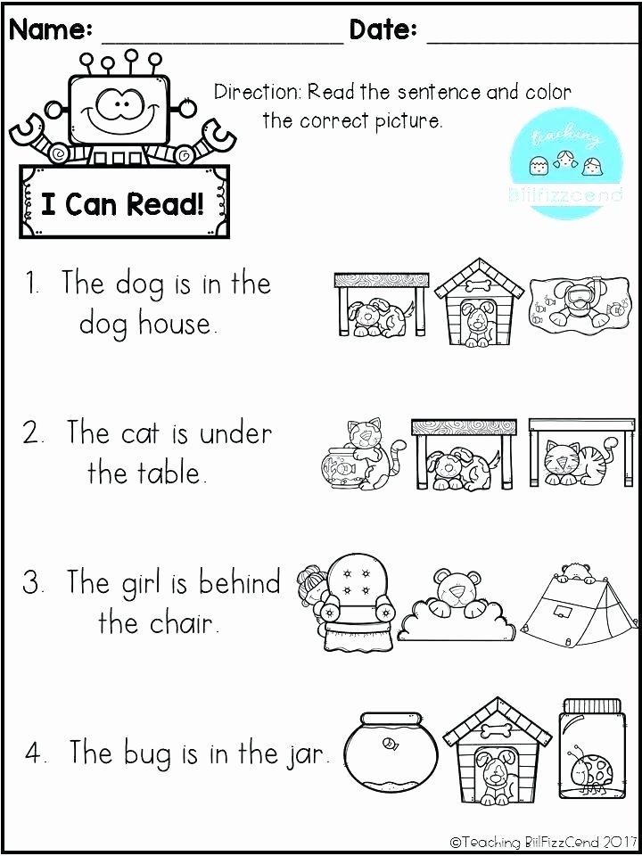 1st Grade Reading Worksheets Pdf Grade Prehension Worksheets Math 1st Grade Literacy