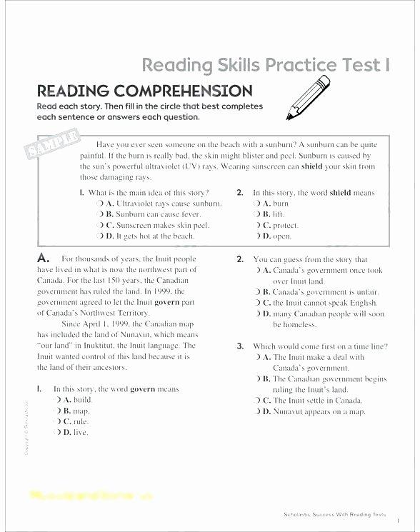 1st Grade Reading Worksheets Pdf Second Grade Reading Worksheets