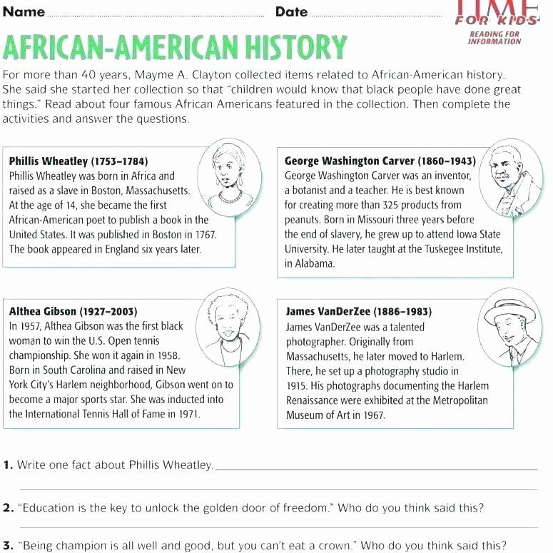 1st Grade social Studies Worksheets Free Printable Us History Worksheets