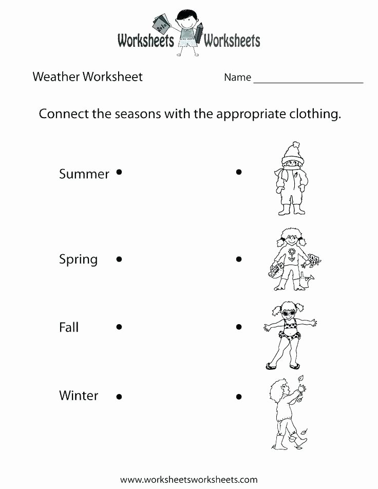 1st Grade Weather Worksheets Winter Weather Worksheets