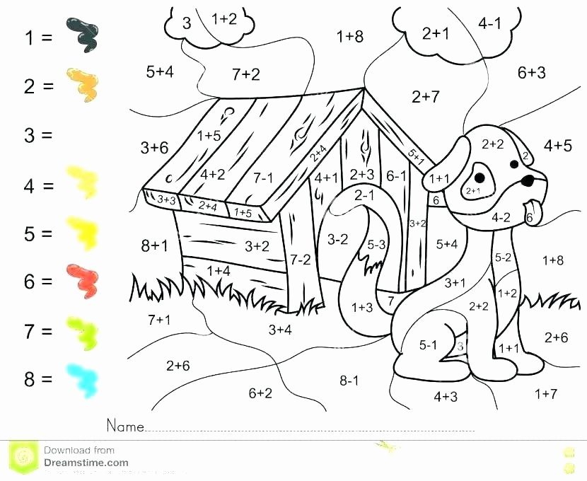 2 Digit Addition Coloring Worksheets Addition Coloring Pages – Agenciaorange