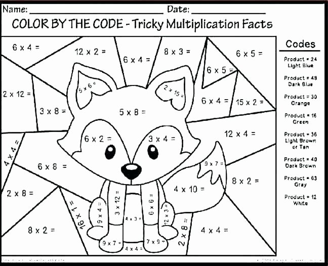 2 Digit Addition Coloring Worksheets Kindergarten Math Coloring Worksheets Addition Worksheet