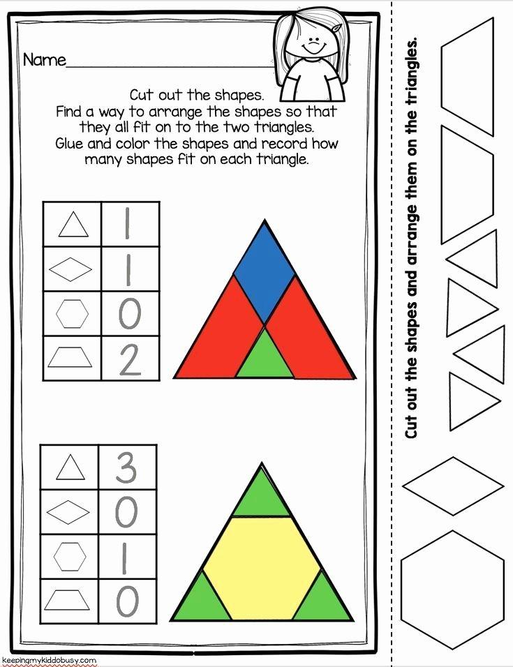 2d Shapes Worksheet Kindergarten Kindergarten Geometry Unit Freebies
