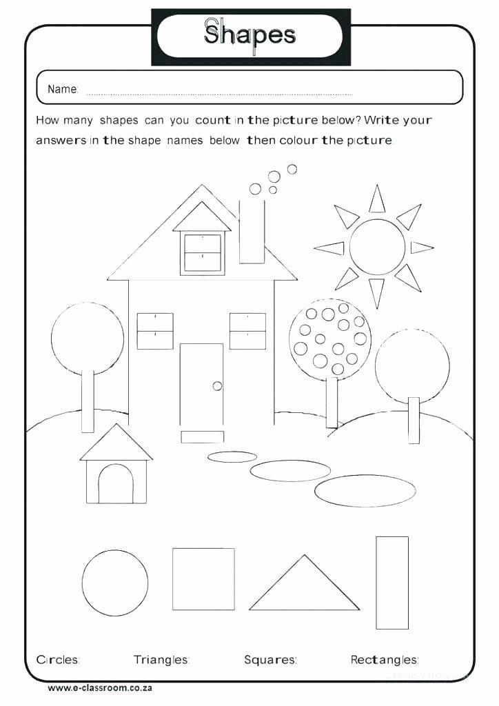 2d Shapes Worksheet Kindergarten Shapes 3d Shapes Worksheets Kindergarten Free 3d Worksheets