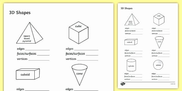 2d Shapes Worksheet Kindergarten Shapes Worksheets Kindergarten Free 3d Shapes Worksheets for