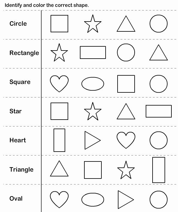 2d Shapes Worksheets Kindergarten Shapes Kindergarten Worksheets