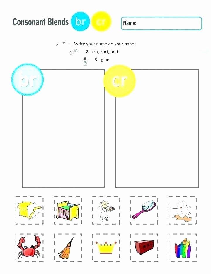 2nd Grade Consonant Blends Worksheets Consonant Binations Worksheets – Onlineoutlet