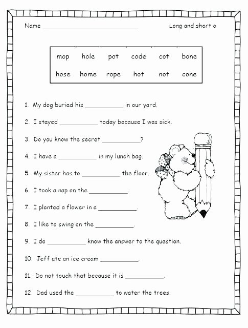 2nd Grade Consonant Blends Worksheets Consonant Blends Worksheets for Grade 2 – Kinchen