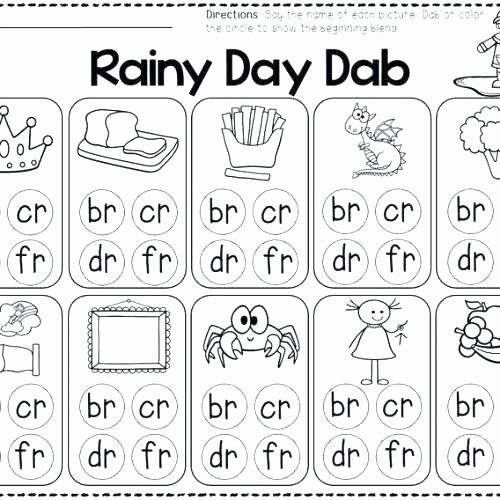 2nd Grade Consonant Blends Worksheets Consonant Digraphs Activities