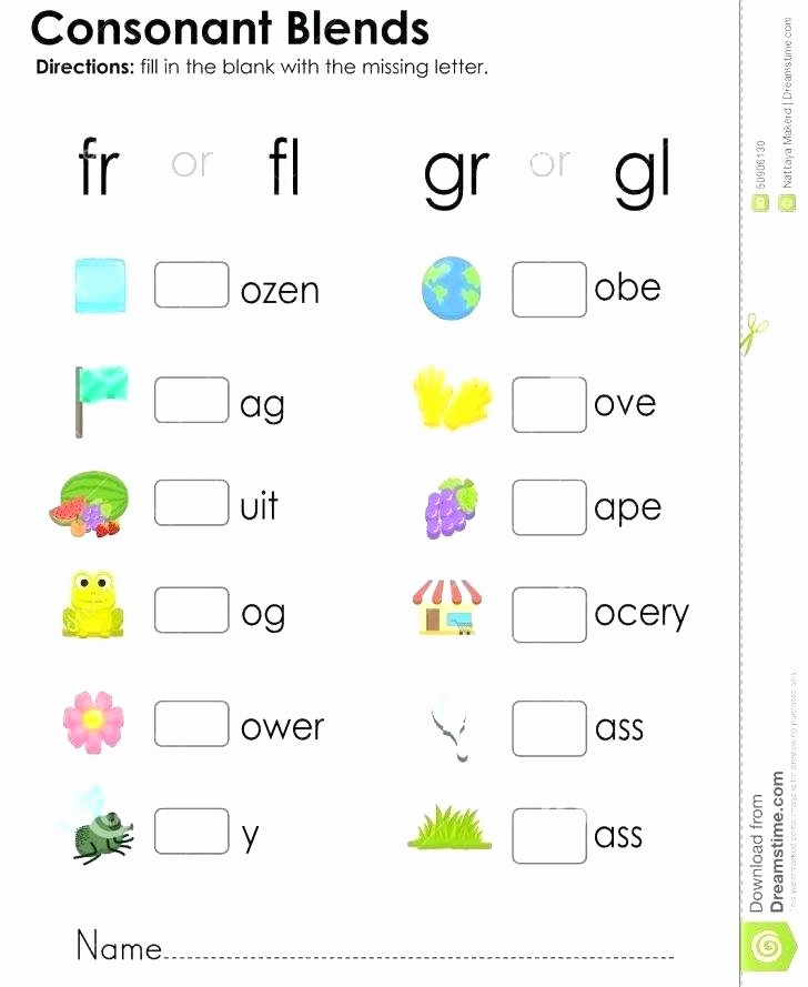 2nd Grade Consonant Blends Worksheets Ending Blends Worksheets Blends Worksheets for Grade 1 Jolly