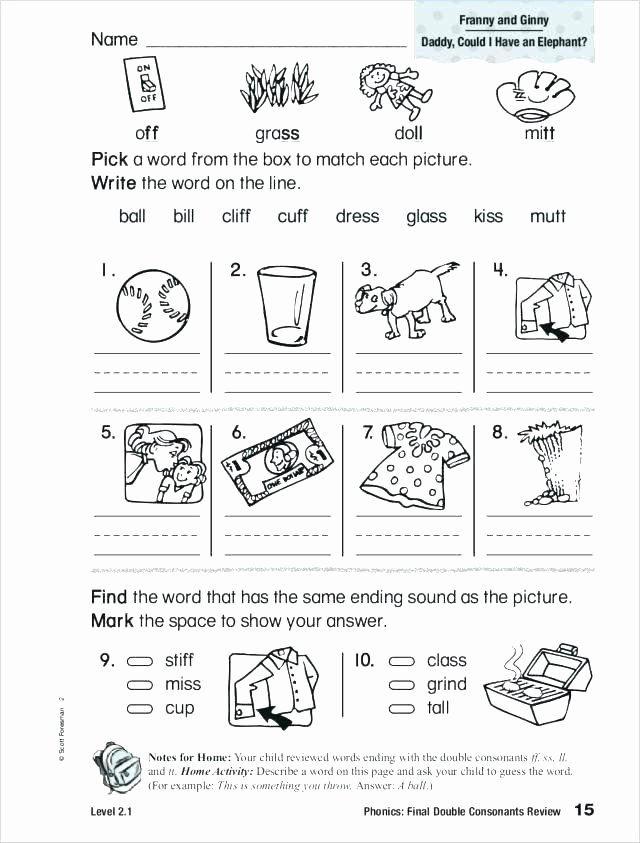 2nd Grade Consonant Blends Worksheets Words Consonant Blends Worksheets Free for