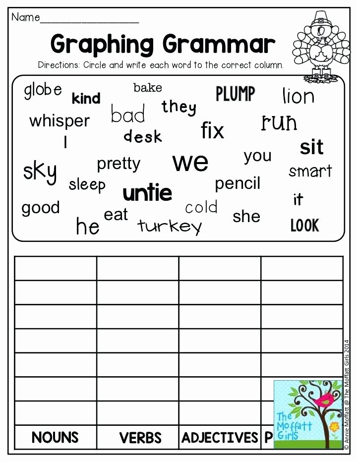 2nd Grade Grammar Worksheets Free 2nd Grade Language Worksheets