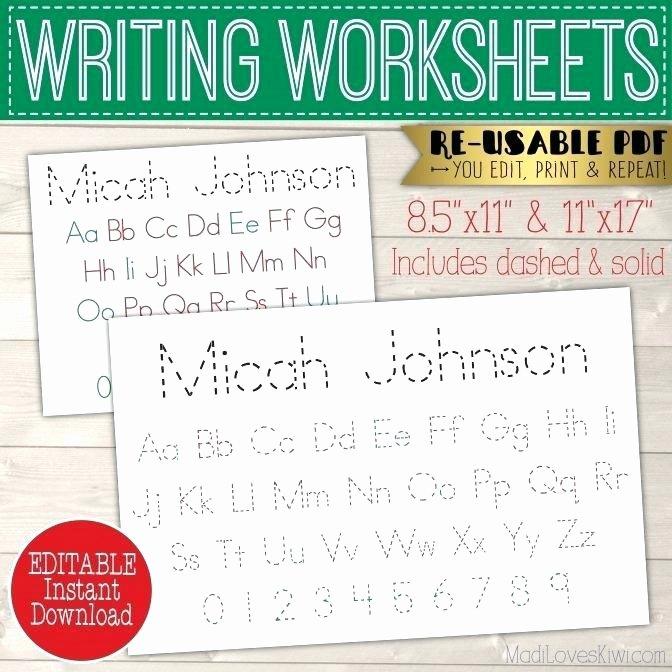 2nd Grade Handwriting Worksheets Pdf Free Writing Worksheets Handwriting Printable Cursive