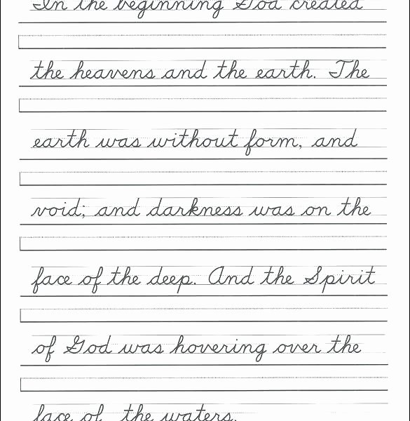2nd Grade Handwriting Worksheets Pdf Printable Cursive Handwriting Worksheets Free K Worksheet