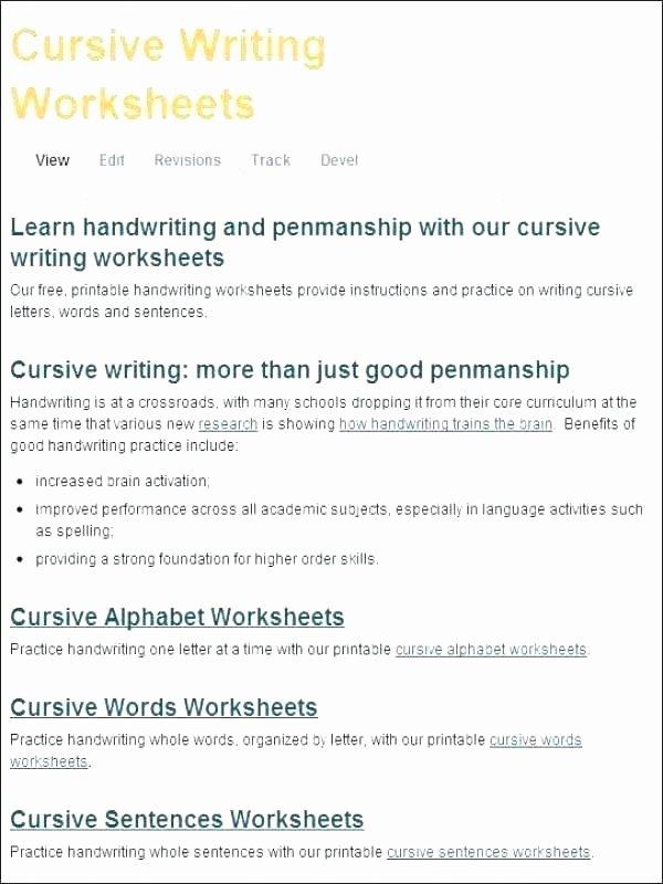 2nd Grade Handwriting Worksheets Pdf Writing Worksheet – Papakambing