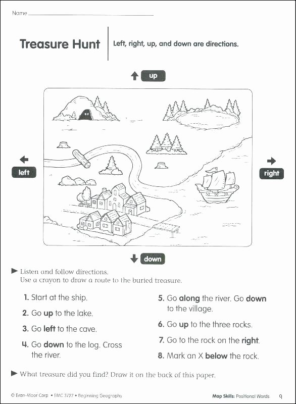 2nd Grade Map Skills Worksheets Elegant Printable Free Worksheets Library Download and Print Map