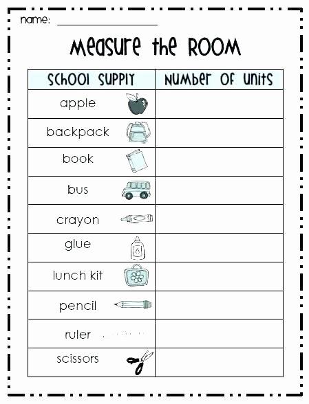 2nd Grade Math Worksheets Measurement 4th Grade Math Measurement Worksheets