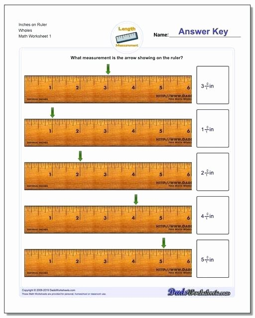 2nd Grade Measurement Worksheets Free Inches Measurement Inches Measurement Worksheets Ruler