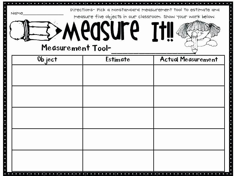 2nd Grade Measurement Worksheets Second Grade Measurement Worksheets