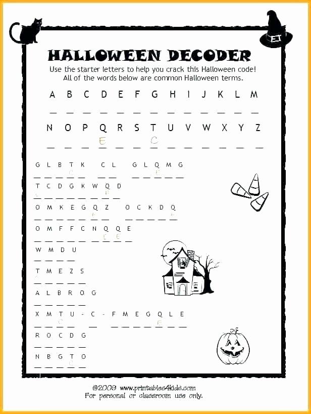 2nd Grade Minute Math Worksheets Halloween Worksheets for 2nd Grade