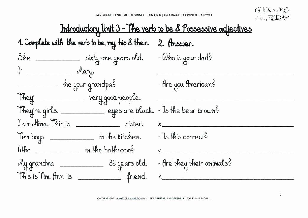2nd Grade Noun Worksheets 5th Grade English Grammar Worksheets Grade Grammar