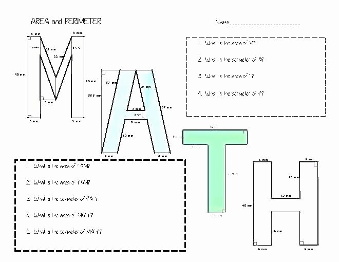 2nd Grade Perimeter Worksheets Free Perimeter Worksheets