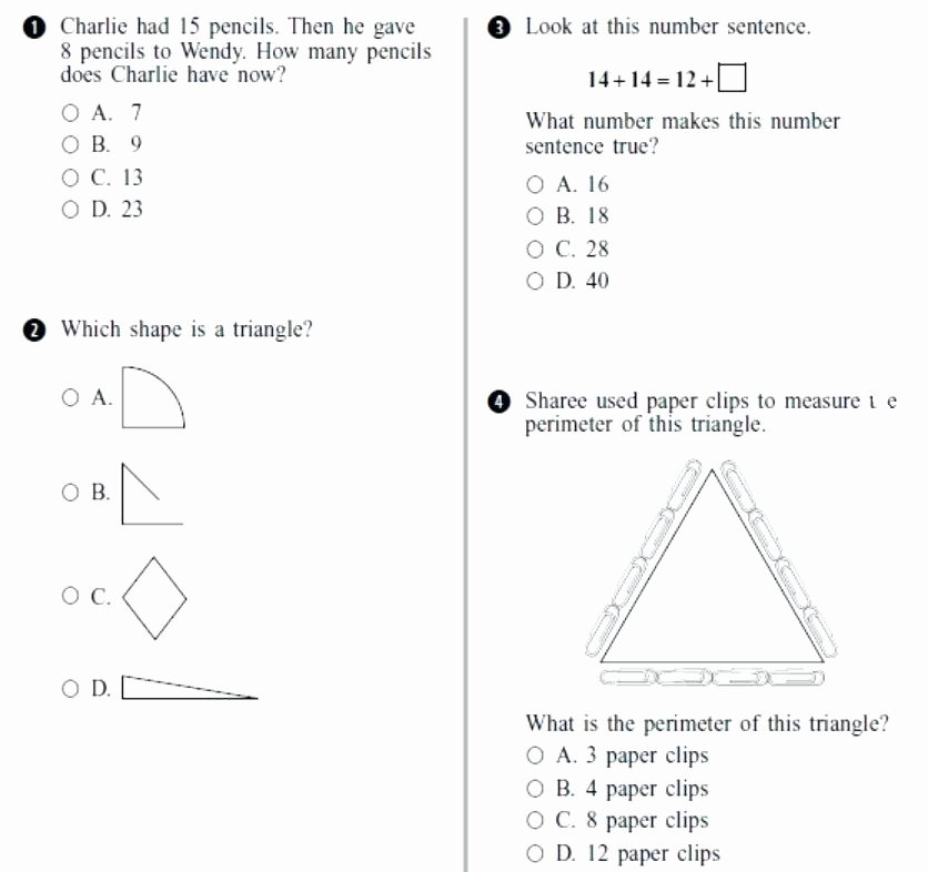 2nd Grade Perimeter Worksheets Free Second Grade Math Worksheets Lovely Free Math