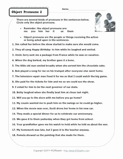 2nd Grade Pronoun Worksheets Apostrophe Worksheet High School Possessive Pronoun Grade