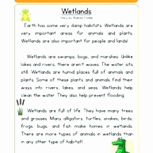2nd Grade Reading Worksheets Printable Free Printable Second Grade Reading Worksheets Mon Core
