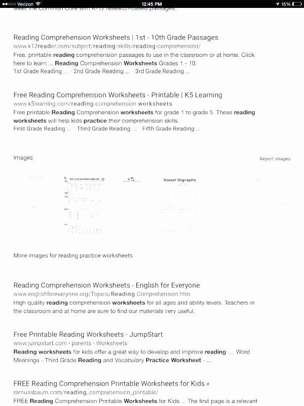 2nd Grade Reading Worksheets Printable Grade Reading Worksheets Free Printable English for