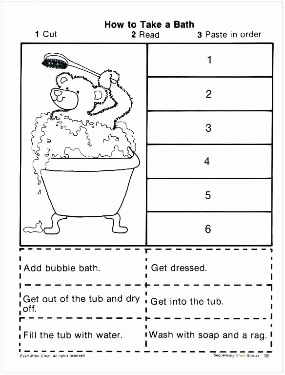 2nd Grade Sequencing Worksheets Lesson Plan Point View 4 First Person Sequence events