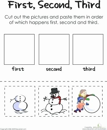 2nd Grade Sequencing Worksheets Sequence Of events Worksheets 2nd Grade