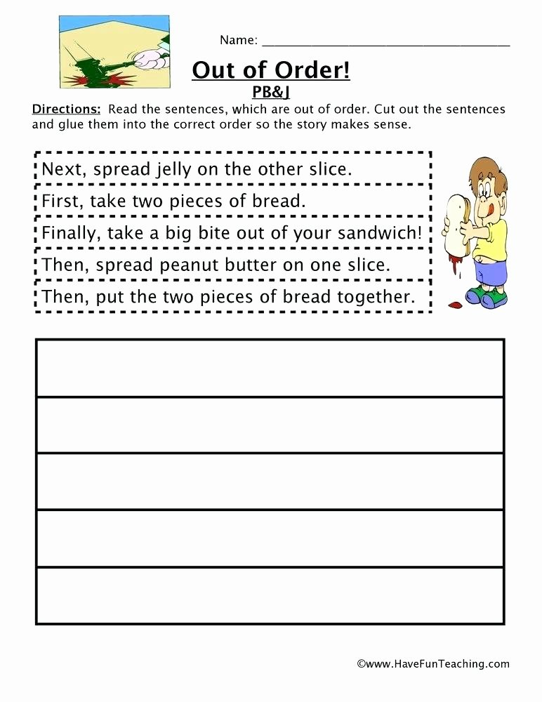 2nd Grade Sequencing Worksheets Sequence Sequencing Worksheets Picture Position Printable