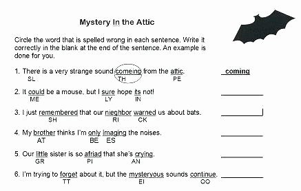 spelling worksheet mystery in the attic spelling worksheet second grade spelling words printable worksheets 2nd grade spelling worksheets 2nd grade spelling worksheets free printables