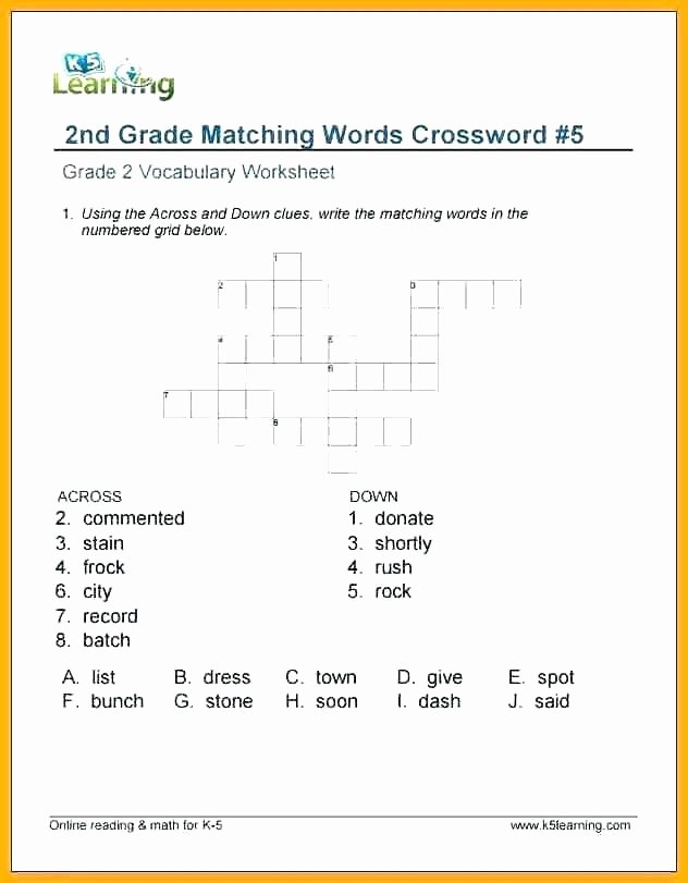 2nd Grade Spelling Worksheets Free Spelling Worksheet Fourth Grade Spelling Worksheet