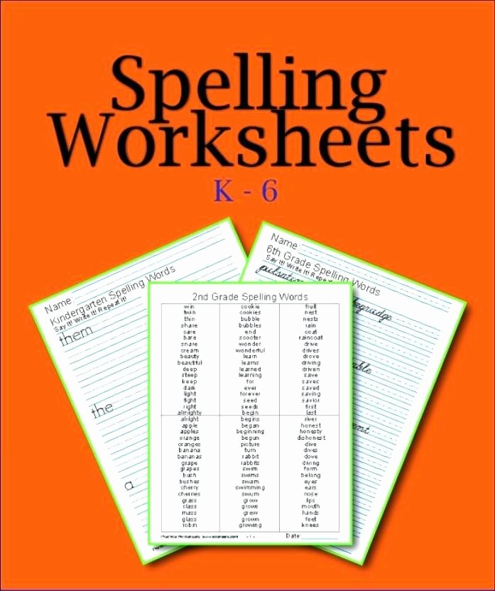 2nd Grade Spelling Worksheets Worksheets for Grade Spelling 4th Words Pdf Colour by Number