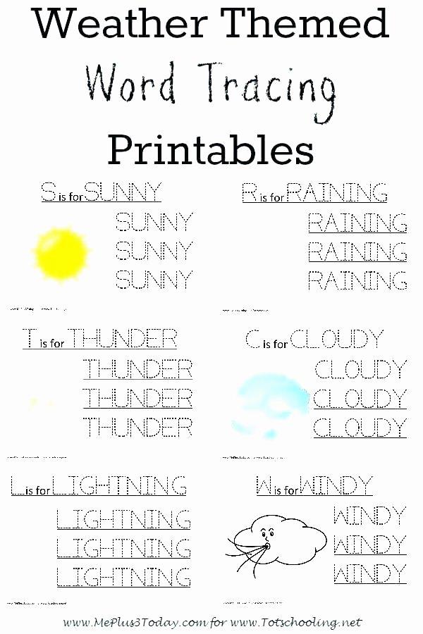 2nd Grade Weather Worksheets Clouds Worksheet Illustrate Science Weather Worksheets