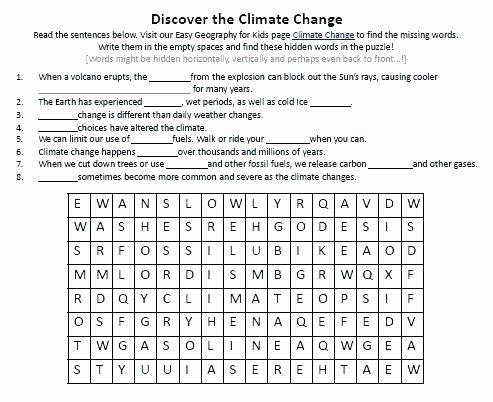 2nd Grade Weather Worksheets Weather Worksheets for 3rd Grade Climate Worksheet Super
