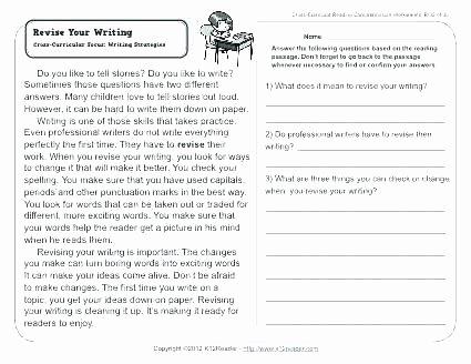 2nd Grade Writing Worksheets Pdf Writing Worksheets